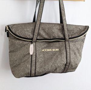 NWT | VICTORIA'S SECRET | Sparkly Gold Tote Bag